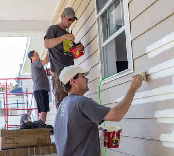 whalen company painting habitat build day